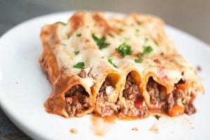 Cannelloni mit Rindfleisch